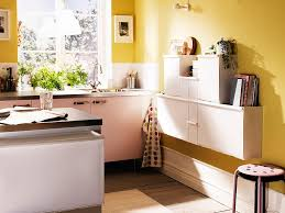 small kitchen desk ideas design yellow stained wall small kitchen design stainless steel