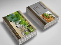 Landscape Business Cards Design Landscape Design Business Landscaping Design Renton Wa