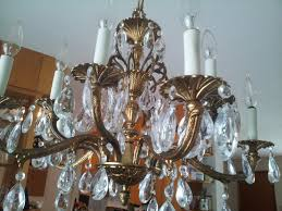Chandelier Replacement Antique Brass And Crystal Chandelier For Dining Room U2014 Best Home