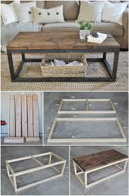 Woodworking Plans Display Coffee Table by 20 Easy U0026 Free Plans To Build A Diy Coffee Table Diy Coffee