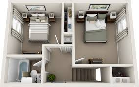 two bedroom floor plans northfield lodge apartments