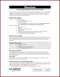 examples of resume title elements of a good resume resume for your job application examples of first job resumes pdf