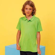 light green polo shirt kid polo shirt light green fitto