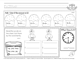 worksheet 1st grade work wosenly free worksheet