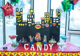 Candy Party Table Decorations 37 Cool First Birthday Party Ideas For Boys