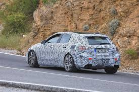 mercedes a45 all mercedes amg a45 spied testing before reveal evo