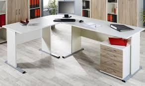 Eckschreibtisch Buche Eckschreibtisch Sonoma Eiche Weiß Mit Bürocontainer Kaufen Bei
