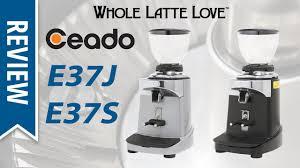 Coffee Grinders Reviews Ratings Review Ceado E37s U0026 E37j Espresso Coffee Grinders Youtube