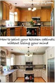 How To Paint Kitchen Countertops by How To Spray Paint Cabinets Like The Pros How To Spray Paint