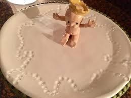 mardi gras king cake baby the uptown acorn mardi gras king cake baby platter