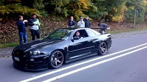 r34 nissan skyline r34 gtr v spec nismo omori factory s1 youtube