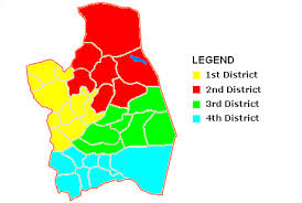 san jose district map legislative districts of nueva ecija