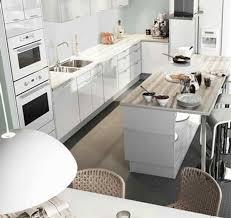 cuisine en l avec ilot central charmant amenagement ilot central cuisine 6 une cuisine avec