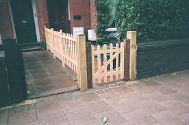 wooden garden gates youtube