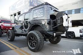 jeep rubicon 2017 grey 2017 sema oracle grey metallic jeep jk wrangler unlimited