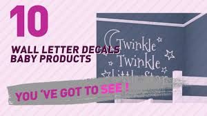 wall letter decals wall letter decals baby products video