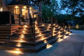Outdoor Patio Wall Lights Backyard Fence Lights Designandcode Club