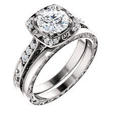 Wedding Ring Set by Denver Jewelers Custom Engagement Rings Wedding Rings Custom