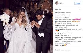get the bridal look of ciara with these similar wedding dresses