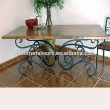 wrought iron pedestal table base steel table leg decorative metal marble pedestal rectangular table
