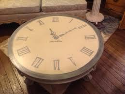 Clock Coffee Table by Tick Tock Clock Coffee Table U2013 Alter U0027d Relics Design Studio