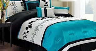 bedding set stunning blue and white bedding chic home edney bed