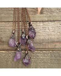 boho stone necklace images Here 39 s a great price on raw amethyst crystal necklace pendant