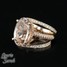 lively wedding ring smoky topaz and diamond halo ring in gold custom