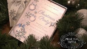 Party Invitations With Rsvp Cards Musical Christmas Party Invitation And Rsvp Card In Snowy White