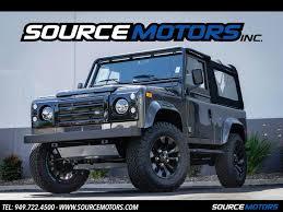 defender land rover 1997 1997 land rover defender 90 st nas for sale in orange county ca