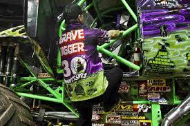 grave digger monster truck poster we crush the cars inside the monster truck arena npr