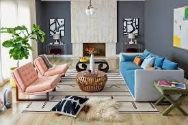 for the living room midcentury but not kitschy a living room update wsj