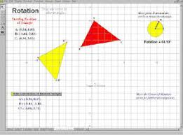 working with geometer u0027s sketchpad transformations