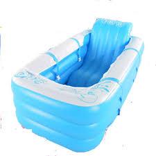 si e baignoire adulte épaissie adulte baignoire gonflable avec couvercle home pliable