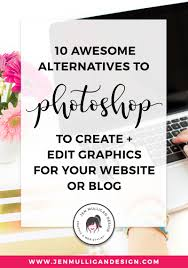 10 awesome alternatives to create and edit graphics for your website