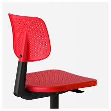 Ikea Office Swivel Chair Alrik Swivel Chair Red Ikea
