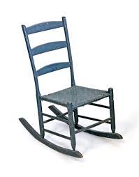 Teal Rocking Chair Showroom Furniture