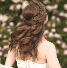 Abiball Frisuren Lange Haare Offen by Die Besten 25 Frisuren Halboffen Ideen Auf Haare