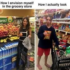 Grocery Meme - literally just 100 funny parenting memes that will keep you