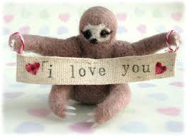 sloth valentines day card 9 weirdest gifts that are given by on valentines day