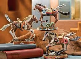 horse statue home decor of home native american decor horse statue best living room design