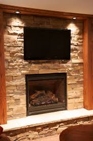 we often get the question is it safe to put a television above a stone fireplace