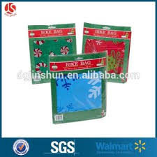 shrink wrap gift paper jumbo shrink wrap gift bag christmas santa bike bag