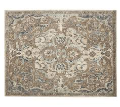 Area Wool Rugs Nolan Style Rug Neutral Pottery Barn