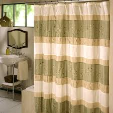 bathroom curtain ideas for shower bathroom leaves pattern fabric shower curtains for bathroom