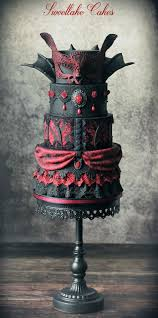 Halloween Cakes Designs by Best 20 Gothic Wedding Cake Ideas On Pinterest Gothic Cake