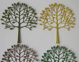 tree design metal die cutting dies for paper card