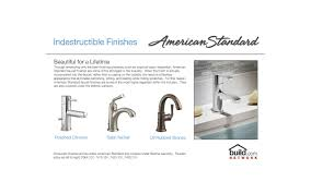 Standard Bathroom Faucets Faucet Com 7430 801 002 In Polished Chrome By American Standard