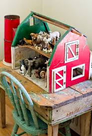 Woodworking Plans Toy Barn by 43 Best Toy Barns Images On Pinterest Toy Barn Wooden Toys And