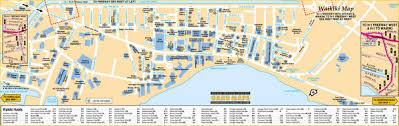 map of waikiki waikiki tourist map waikiki honolulu hawaii mappery